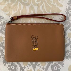 Disney Mickey Mouse Coach Wristlet